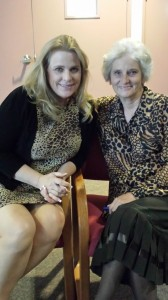Friend and Publicist Kelly Bennett with Mama Lynn